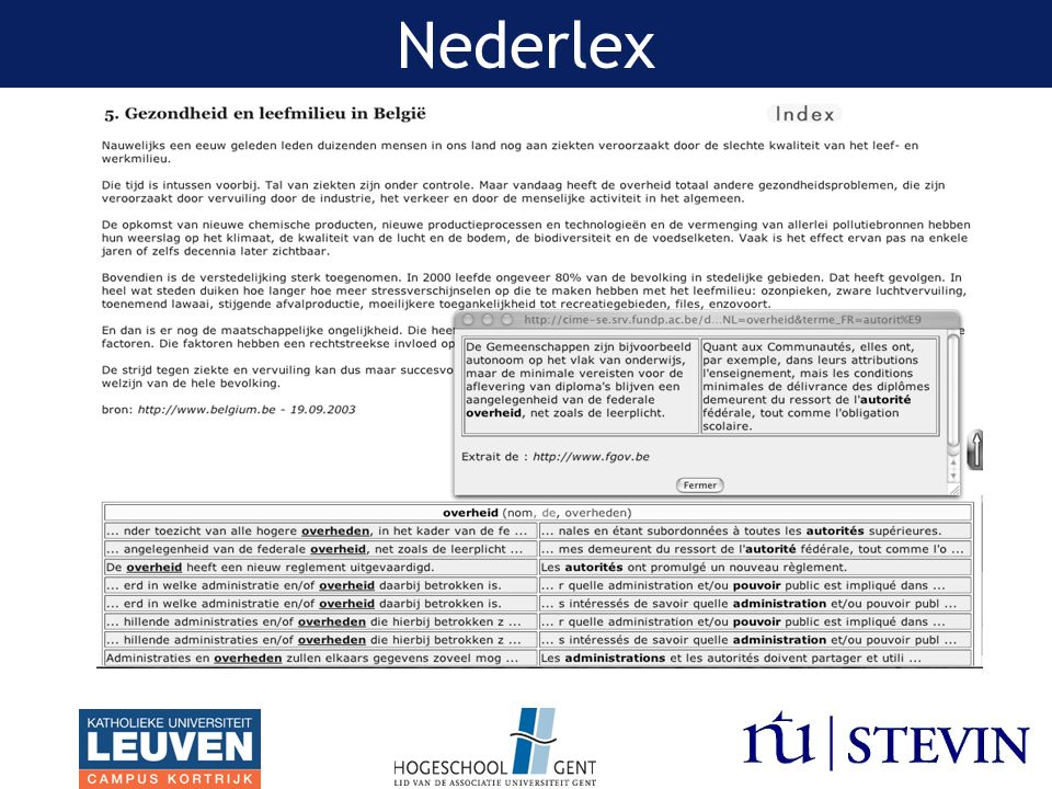 Nederlex Franstaligge studenten die Nederlands leren