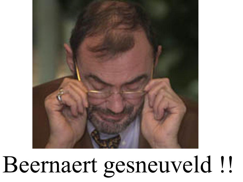 Beernaert gesneuveld !!