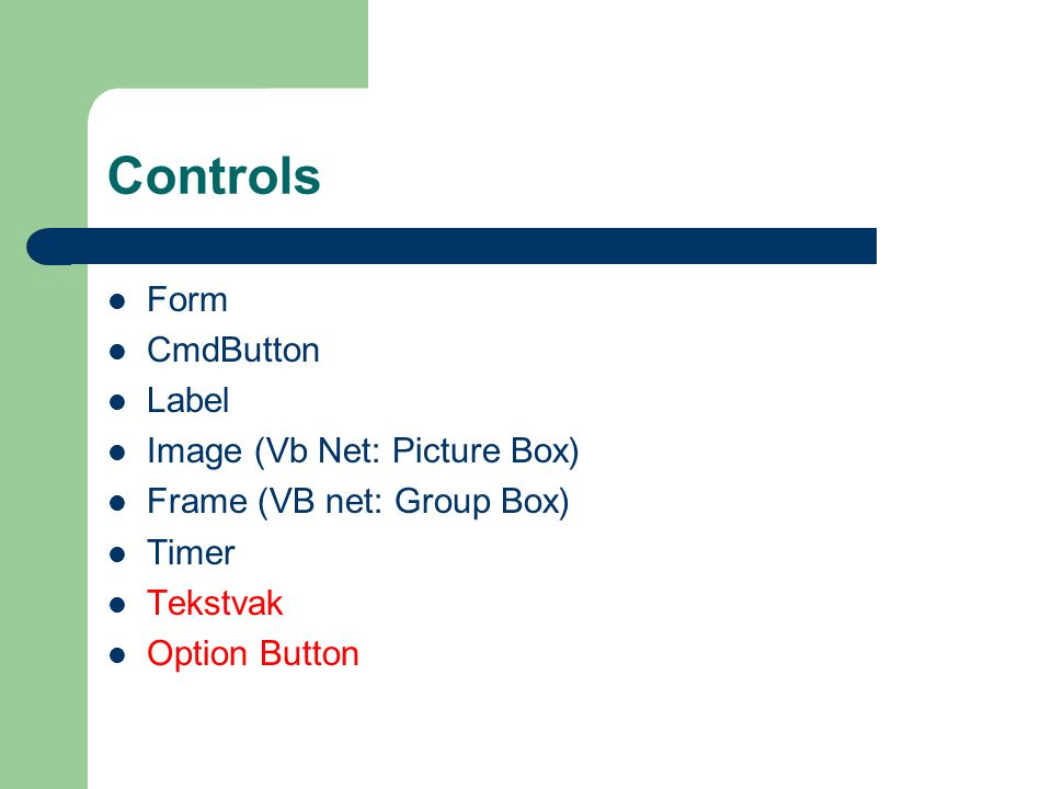 Controls Form CmdButton Label Image (Vb Net: Picture Box)