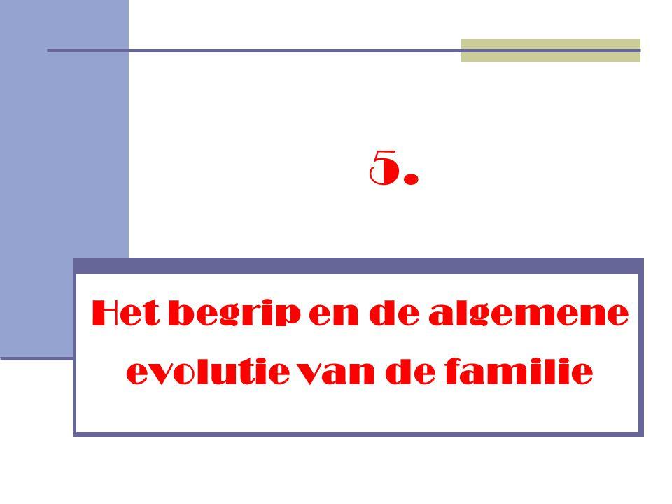 Het begrip en de algemene evolutie van de familie