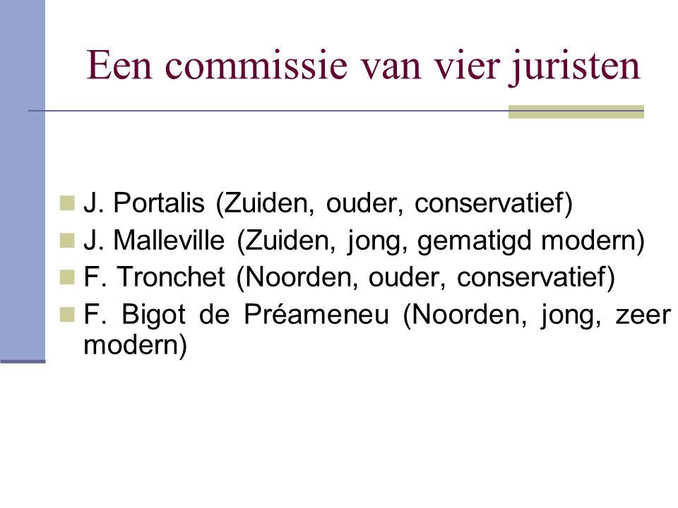 Een commissie van vier juristen