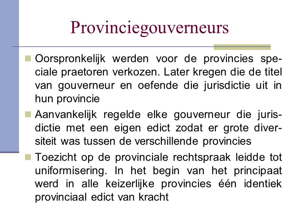 Provinciegouverneurs
