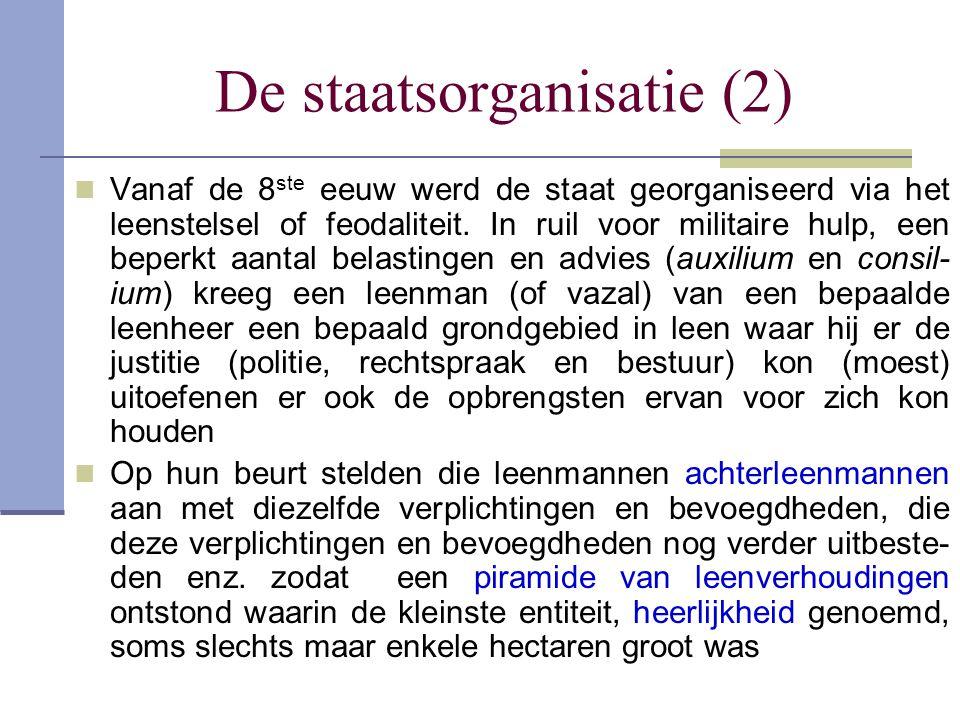 De staatsorganisatie (2)