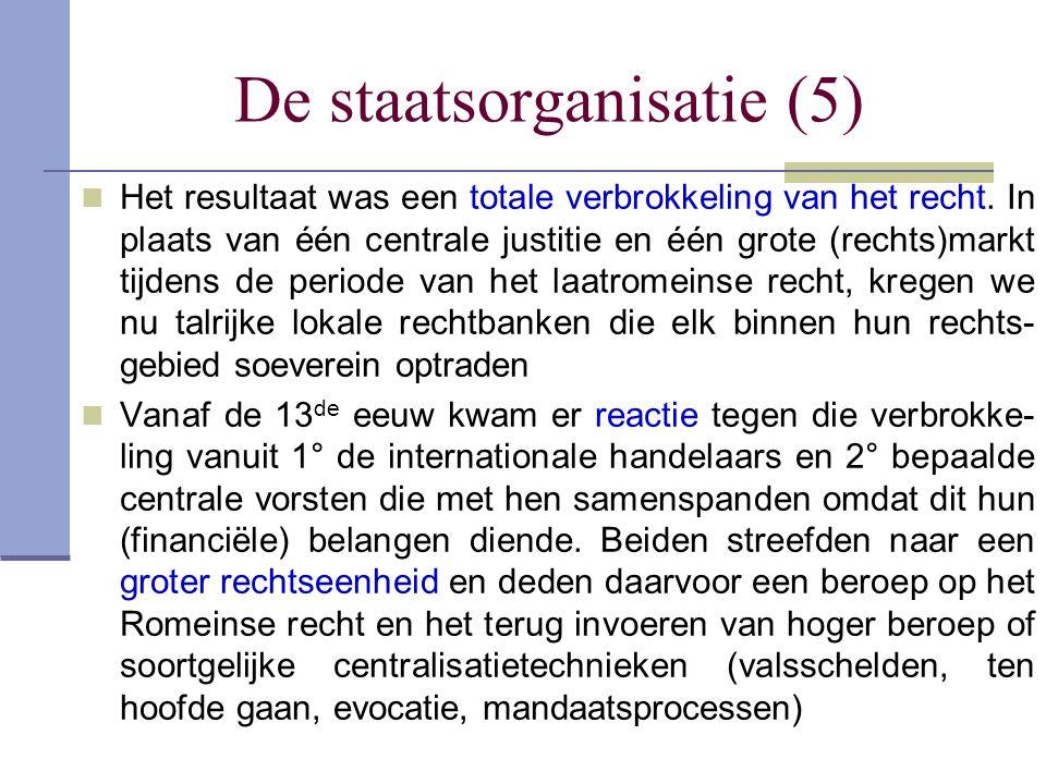 De staatsorganisatie (5)