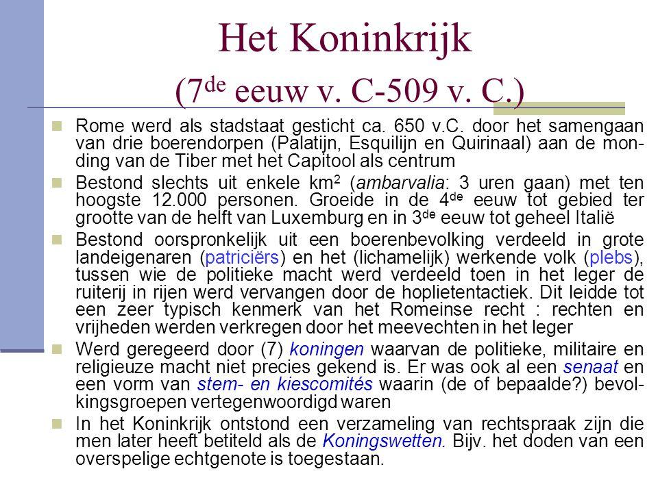 Het Koninkrijk (7de eeuw v. C-509 v. C.)