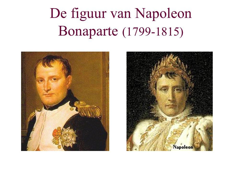 De figuur van Napoleon Bonaparte (1799-1815)