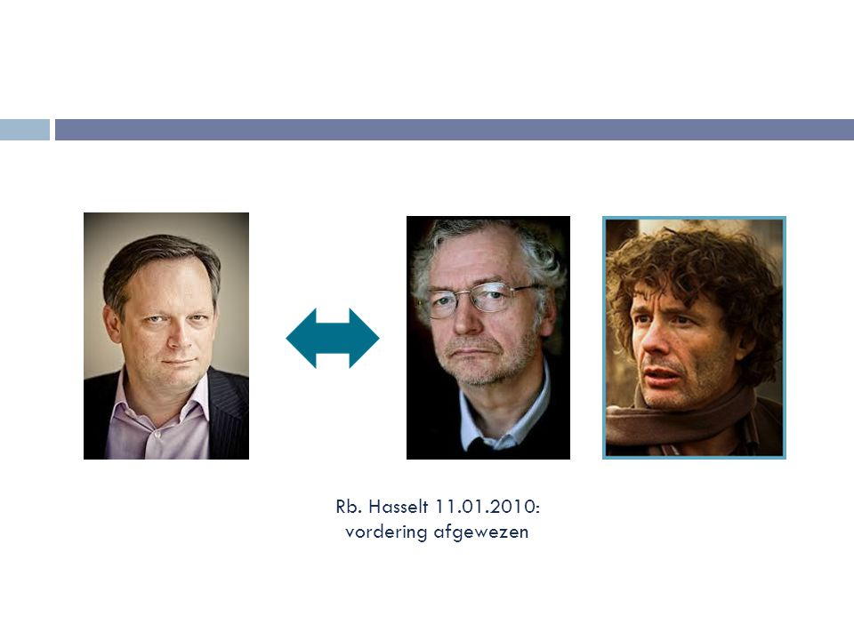 Rb. Hasselt 11.01.2010: vordering afgewezen