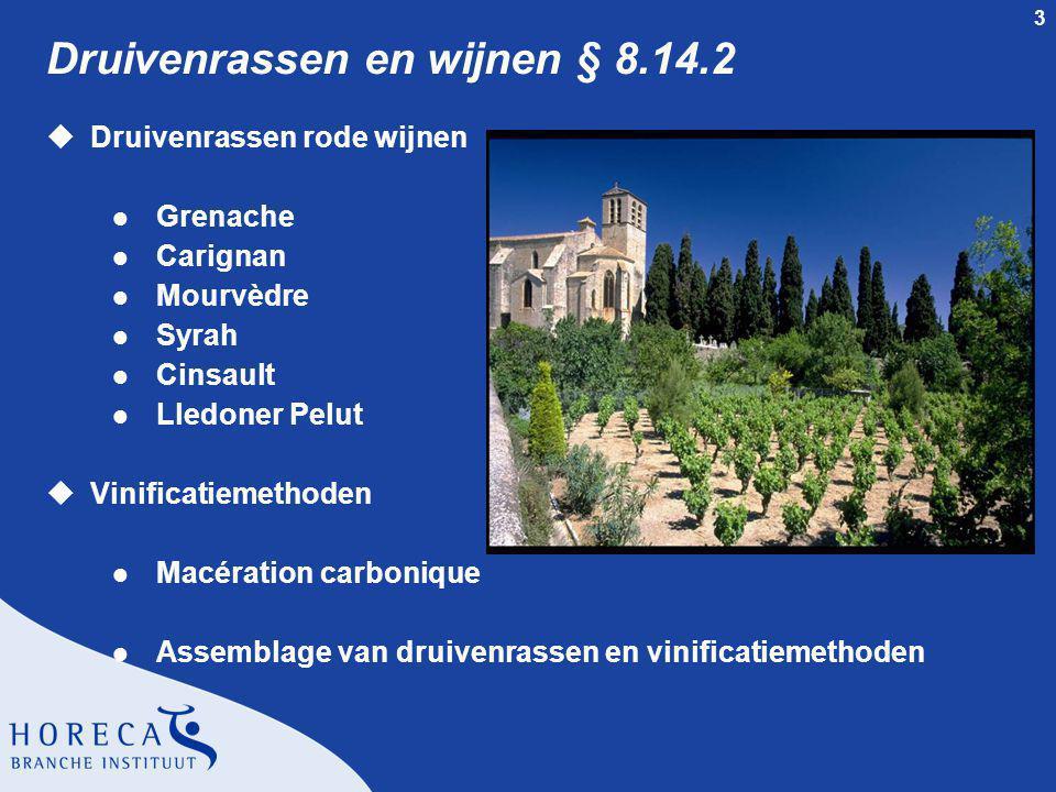 Druivenrassen en wijnen § 8.14.2