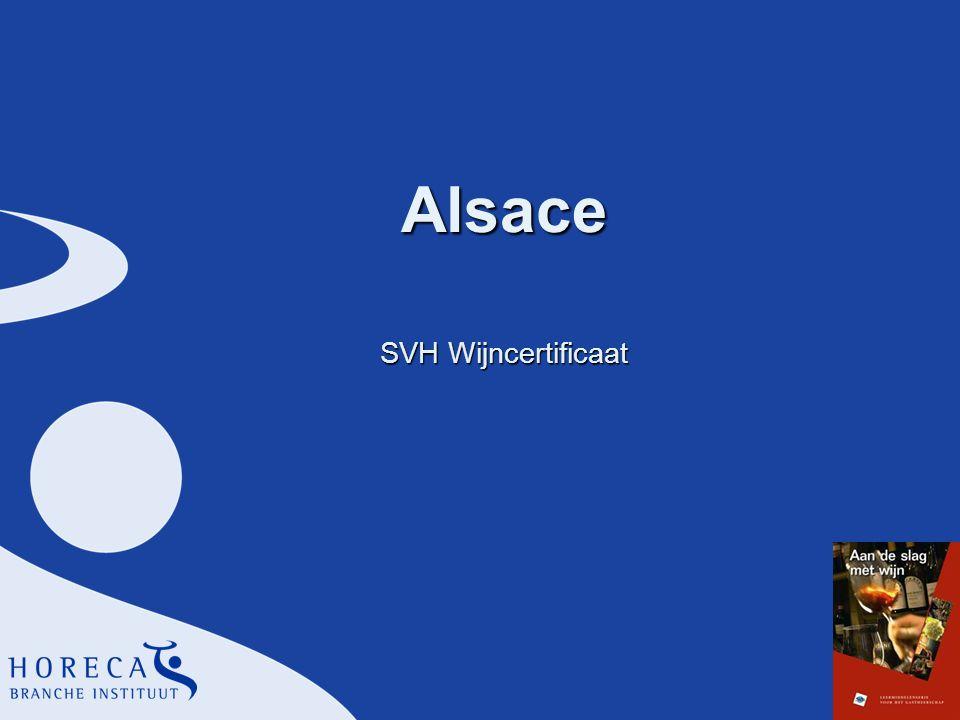 Alsace SVH Wijncertificaat