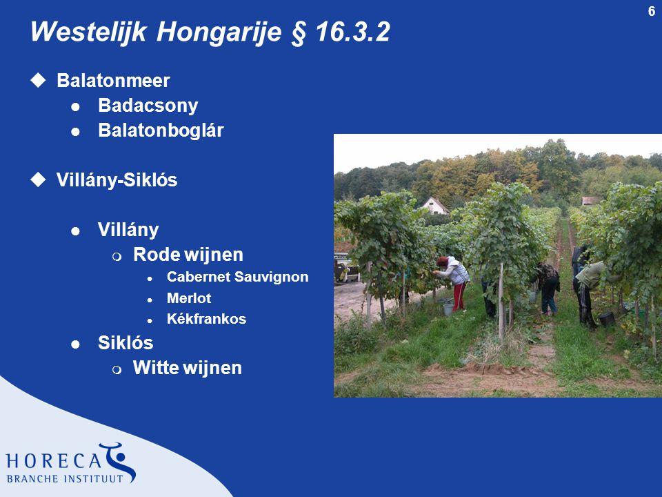 Westelijk Hongarije § 16.3.2 Balatonmeer Badacsony Balatonboglár