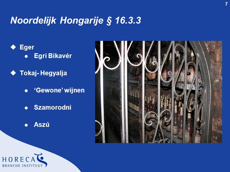 Noordelijk Hongarije § 16.3.3