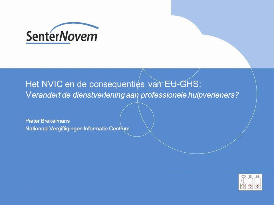 Pieter Brekelmans Nationaal Vergiftigingen Informatie Centrum