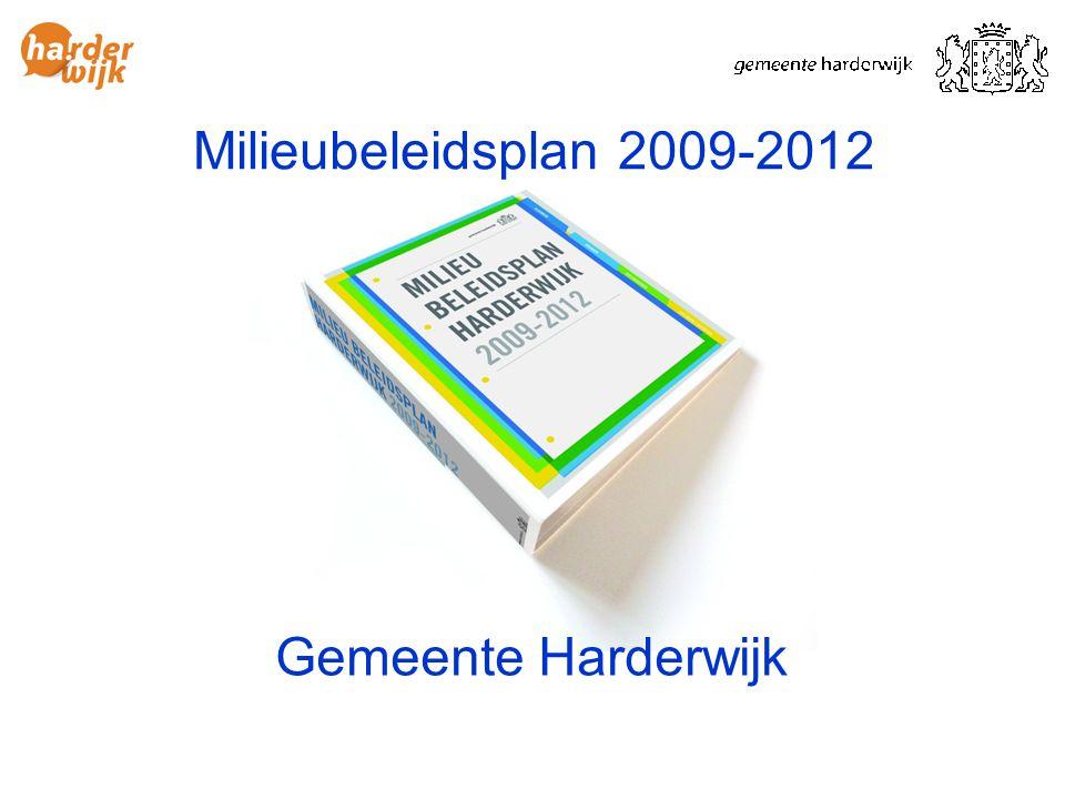 Milieubeleidsplan 2009-2012 Gemeente Harderwijk