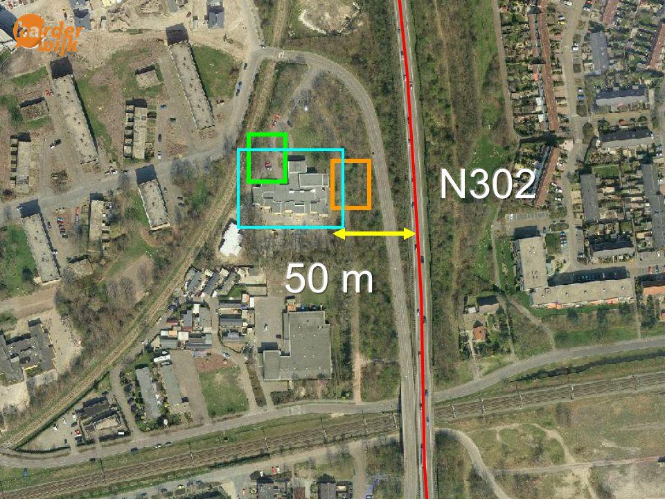 Lucht N302. 50 m. A28. Van 50 tot 300 meter van de A28 moeten er zwaarwegende redenen zijn om.