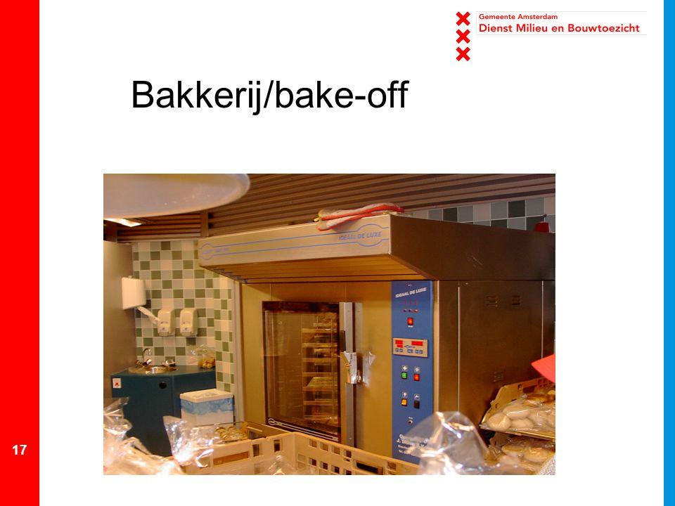 Bakkerij/bake-off