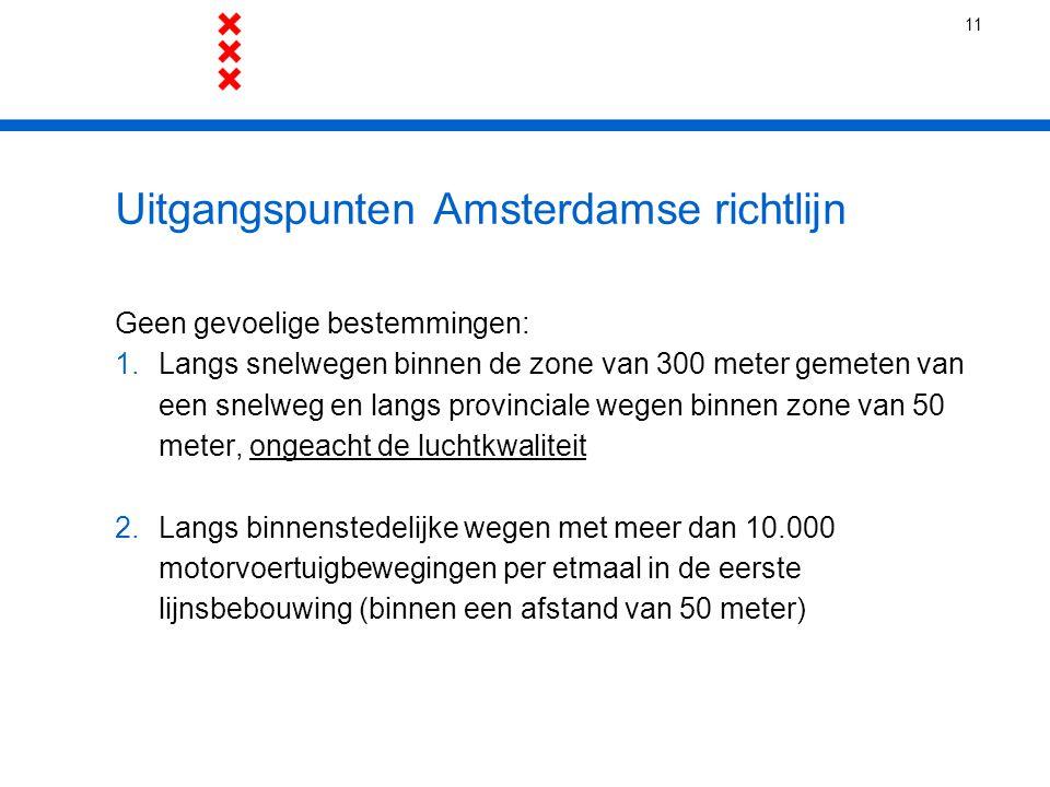 Uitgangspunten Amsterdamse richtlijn