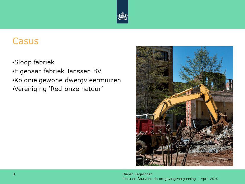 Casus Sloop fabriek Eigenaar fabriek Janssen BV