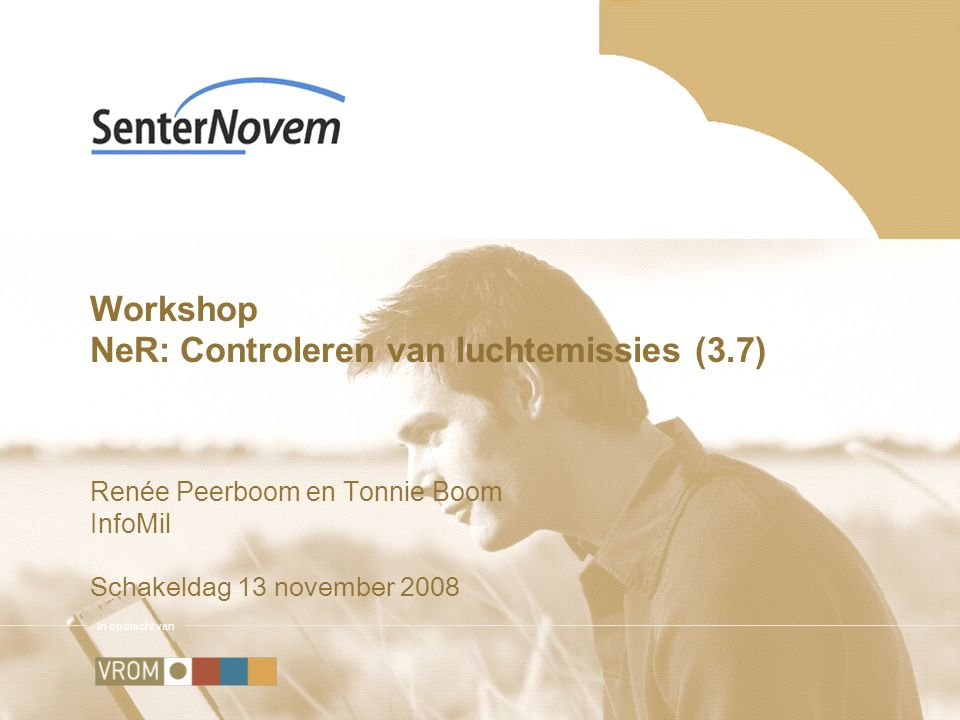 Workshop NeR: Controleren van luchtemissies (3.7)