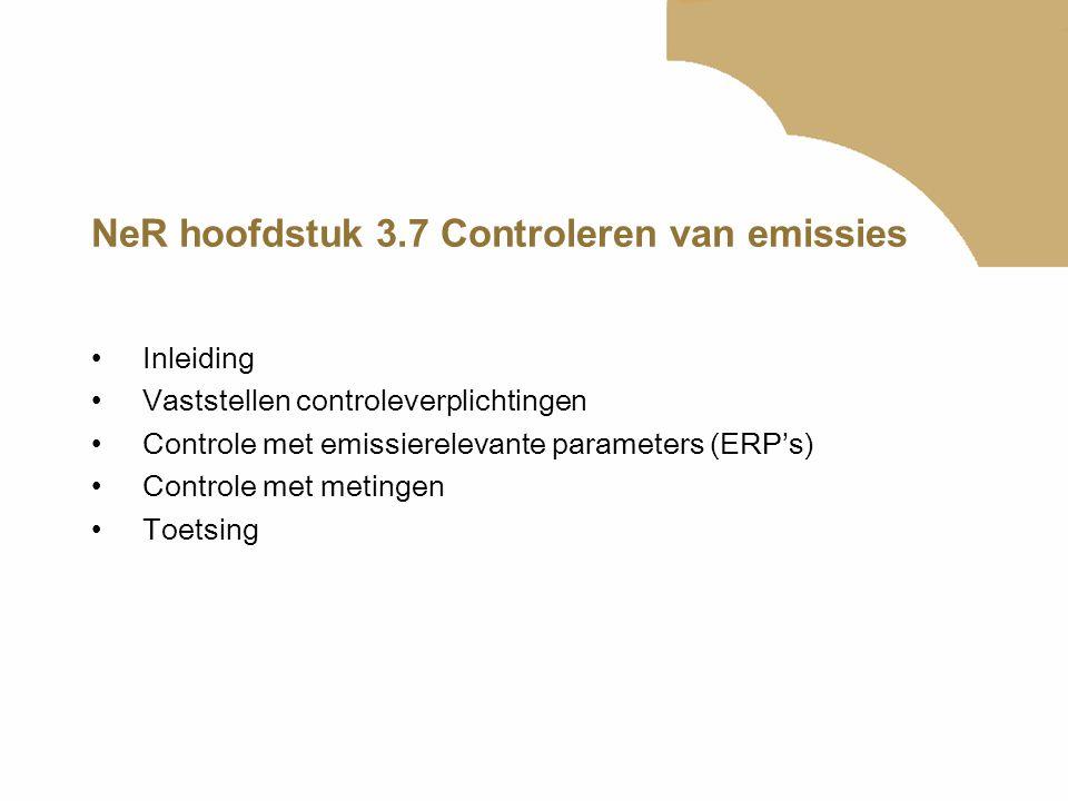 NeR hoofdstuk 3.7 Controleren van emissies