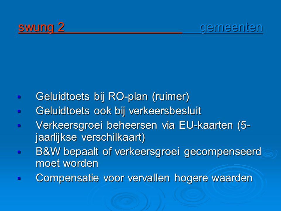 swung 2 gemeenten Geluidtoets bij RO-plan (ruimer)