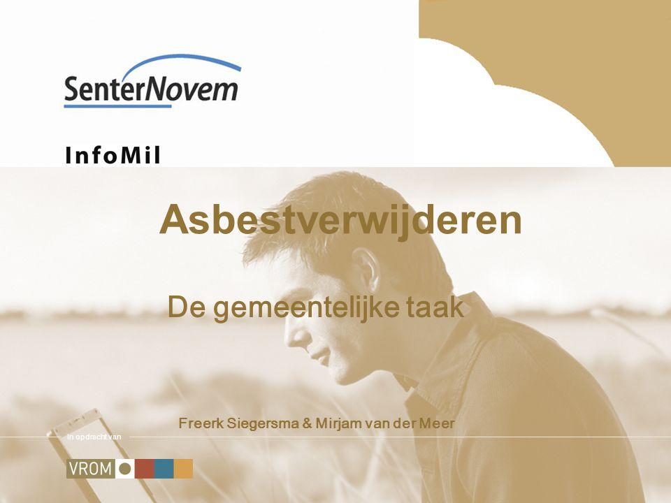 De gemeentelijke taak Freerk Siegersma & Mirjam van der Meer