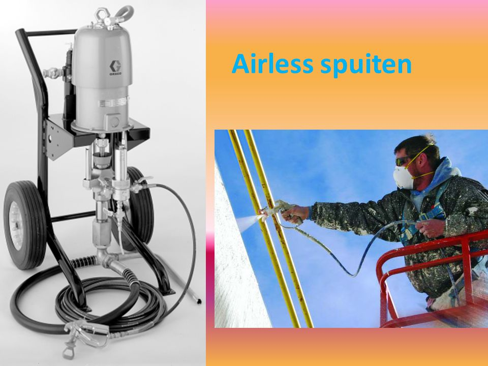 Airless spuiten