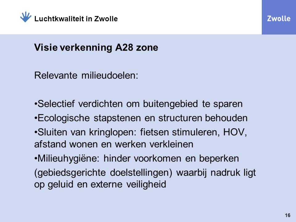 Visie verkenning A28 zone