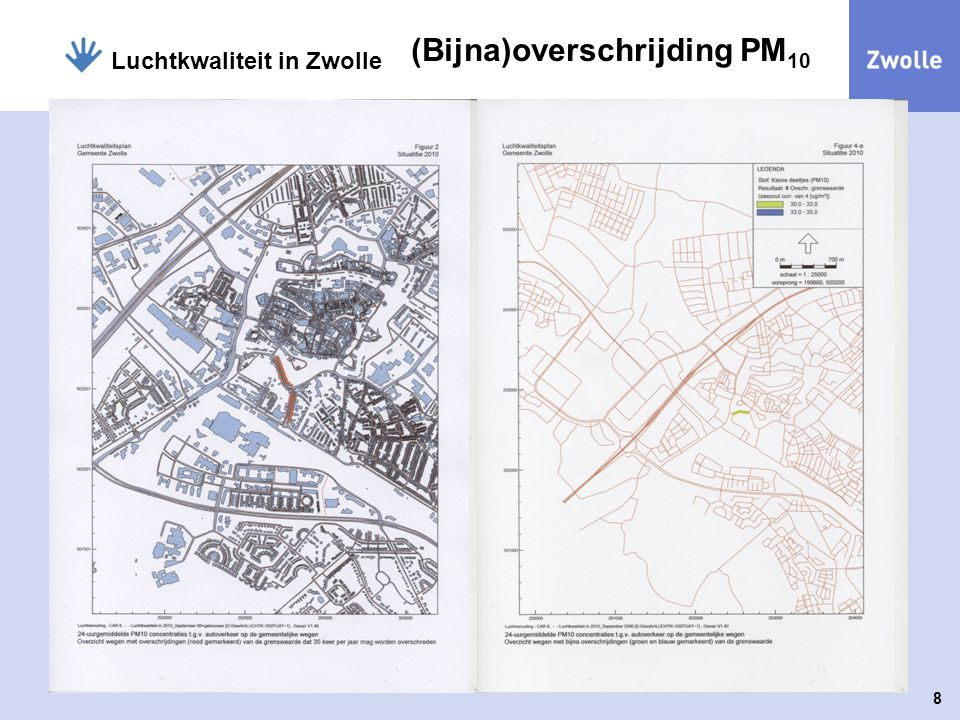 (Bijna)overschrijding PM10