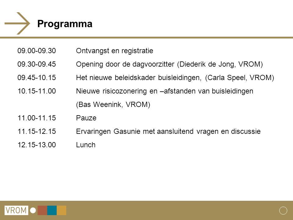 Programma 09.00-09.30 Ontvangst en registratie