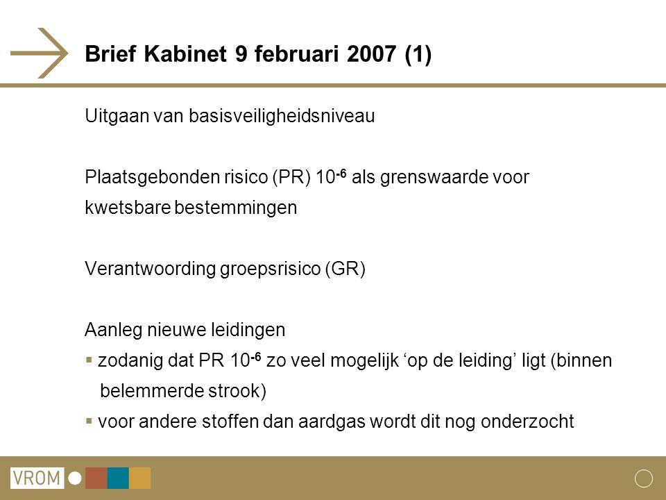 Brief Kabinet 9 februari 2007 (1)