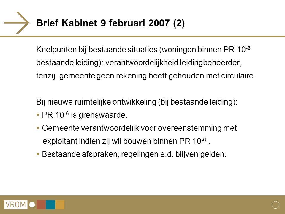 Brief Kabinet 9 februari 2007 (2)