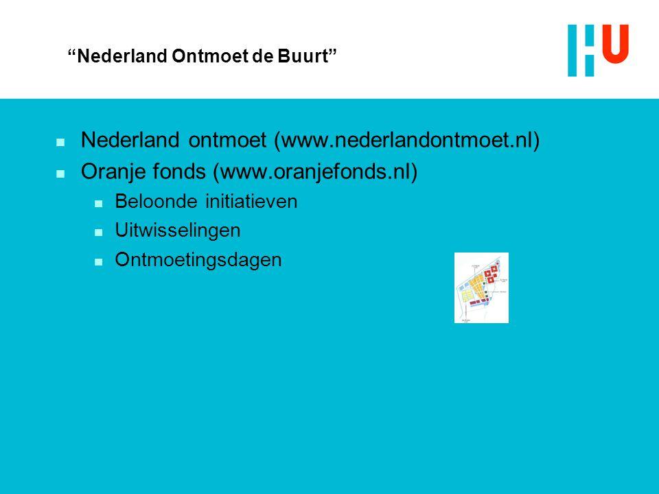 Nederland Ontmoet de Buurt