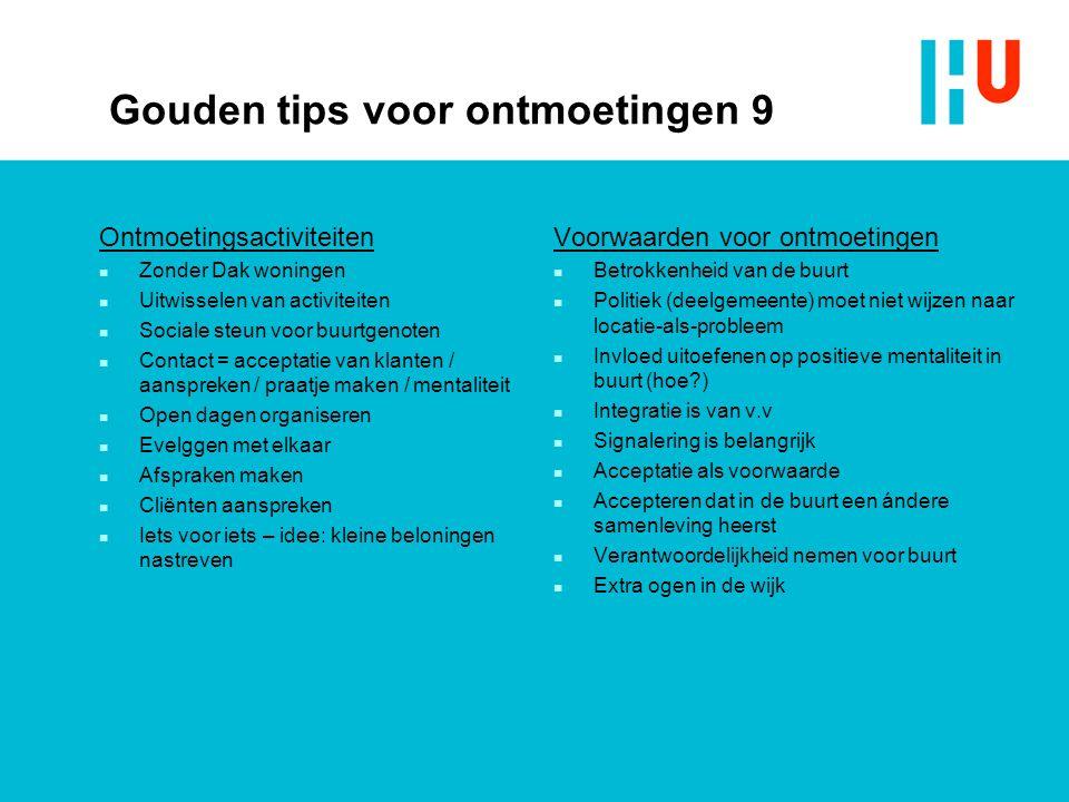 Gouden tips voor ontmoetingen 9