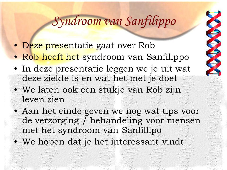 Syndroom van Sanfilippo
