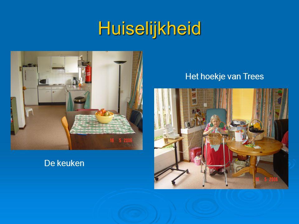 Huiselijkheid Het hoekje van Trees De keuken