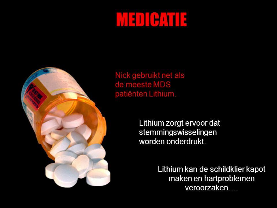 Lithium kan de schildklier kapot maken en hartproblemen veroorzaken….