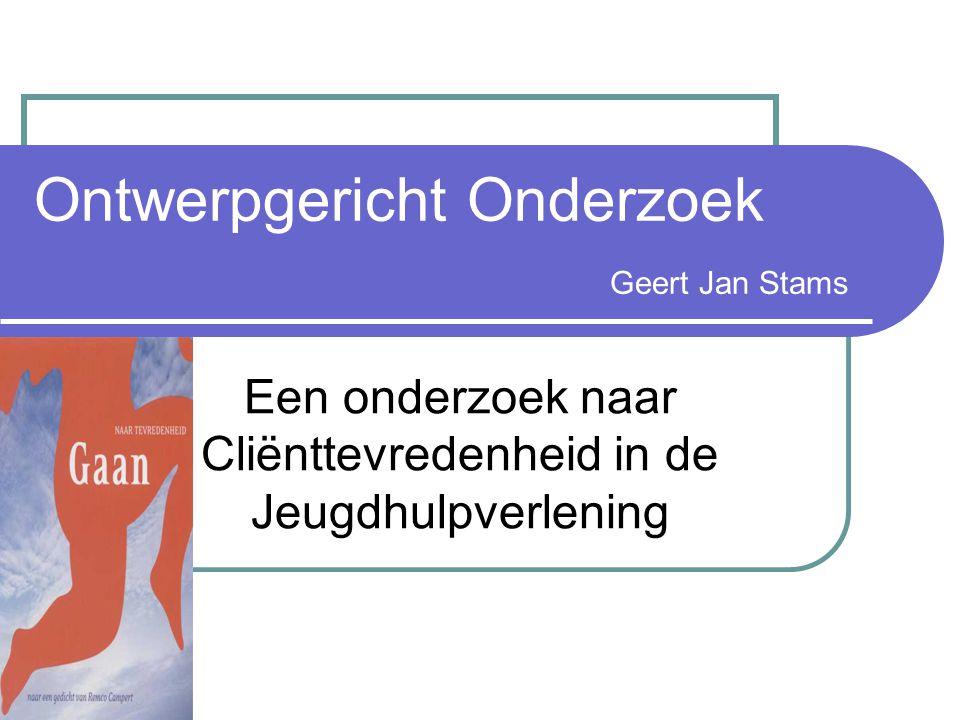 Ontwerpgericht Onderzoek Geert Jan Stams