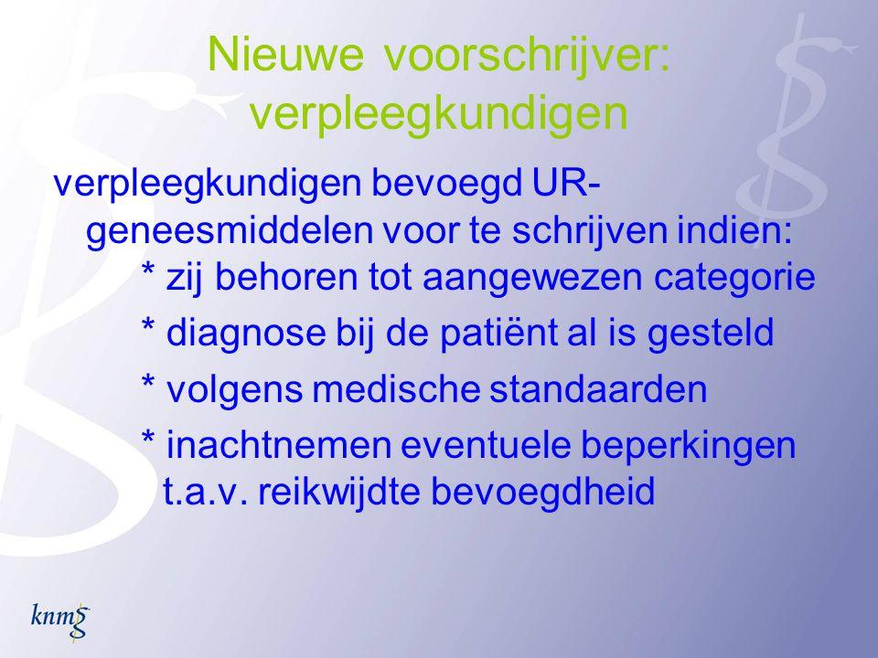 Nieuwe voorschrijver: verpleegkundigen
