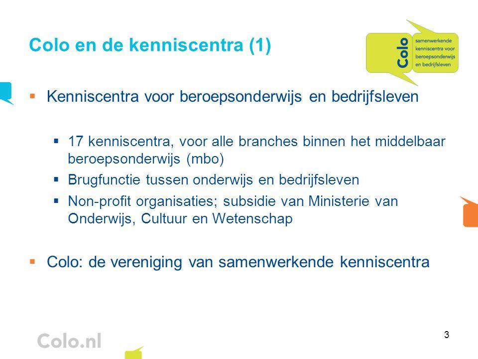 Colo en de kenniscentra (1)