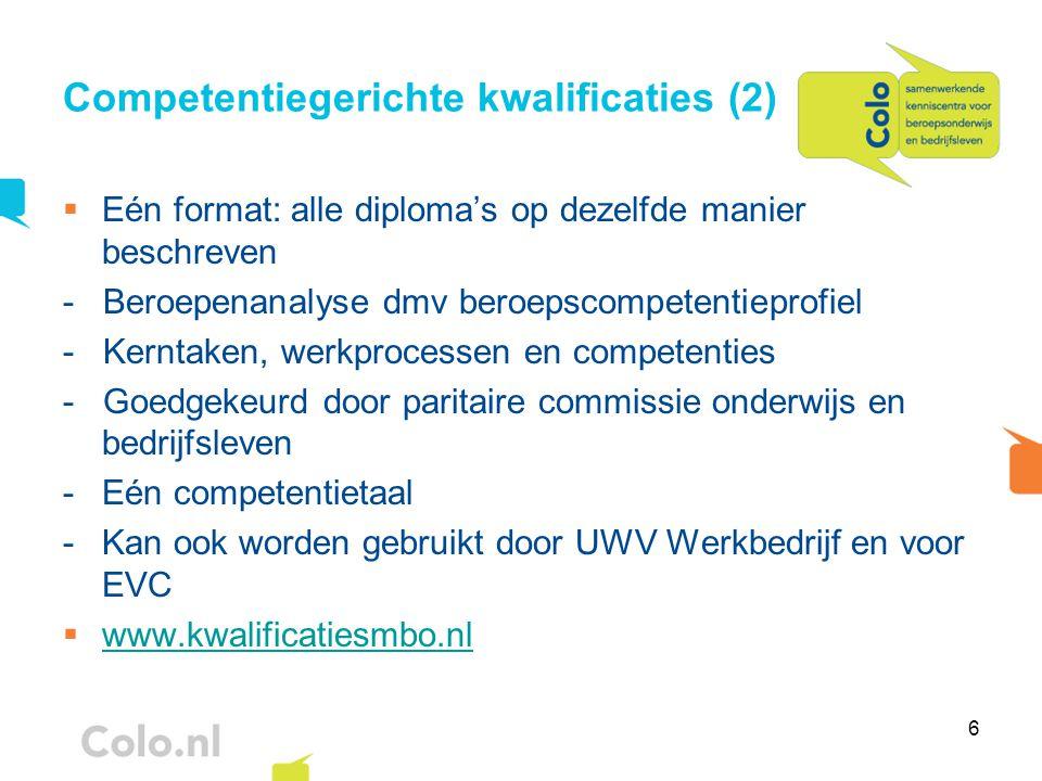 Competentiegerichte kwalificaties (2)