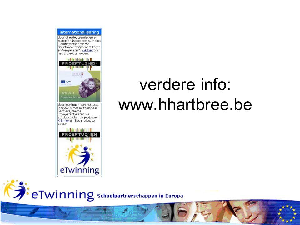 verdere info: www.hhartbree.be