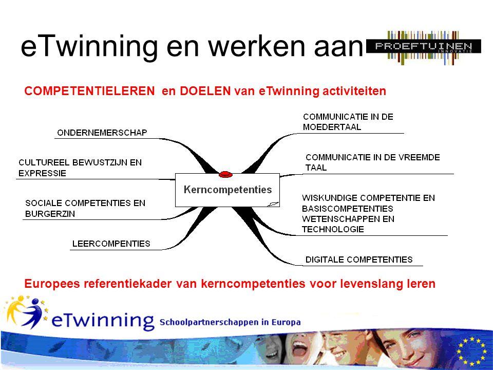 eTwinning en werken aan