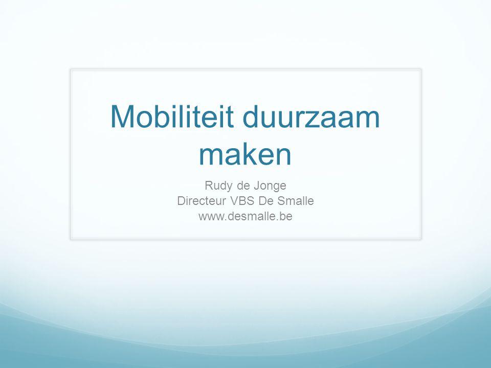 Mobiliteit duurzaam maken
