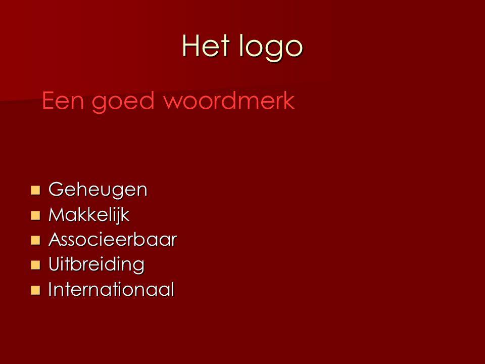 Het logo Een goed woordmerk Geheugen Makkelijk Associeerbaar