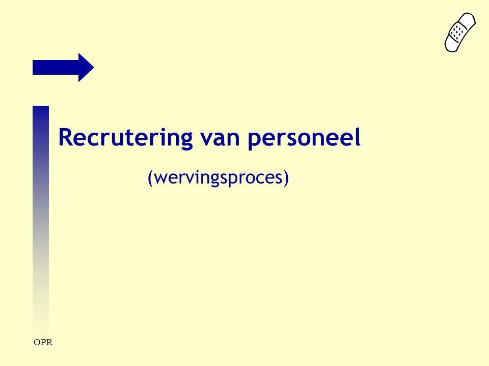 Recrutering van personeel