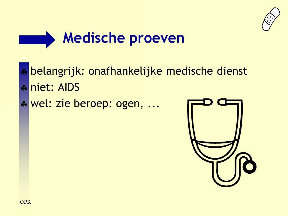 Medische proeven belangrijk: onafhankelijke medische dienst niet: AIDS