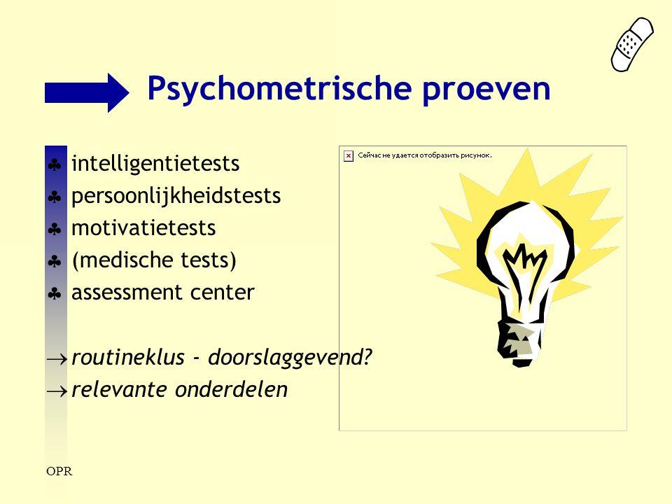 Psychometrische proeven