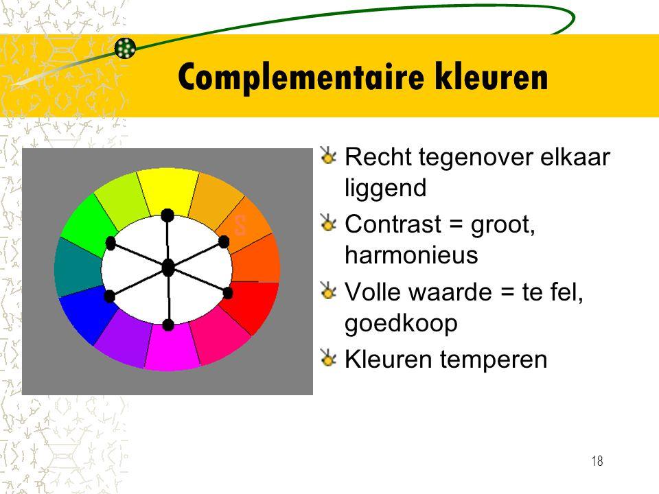 Complementaire kleuren