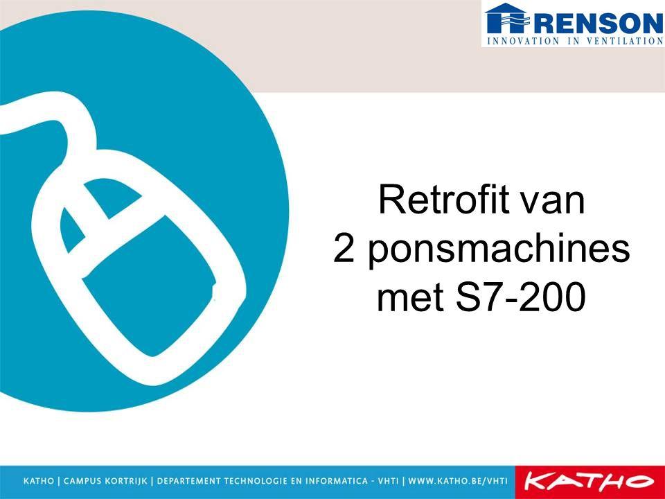 Retrofit van 2 ponsmachines met S7-200