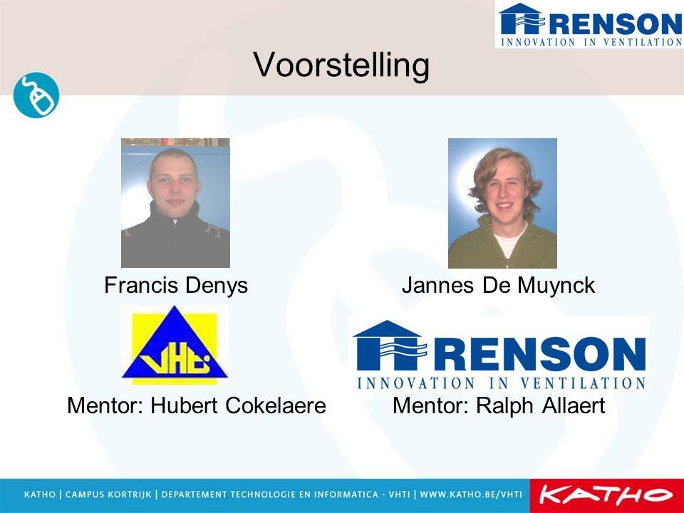 Voorstelling Francis Denys Jannes De Muynck